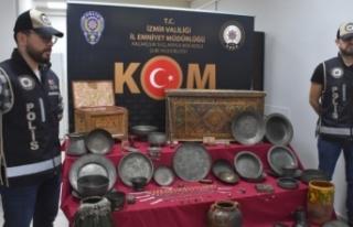 İzmir'de piyasa değeri 15 milyon lira olan...