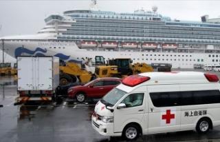 Japonya'da karantinadaki gemide 70 kişide daha...