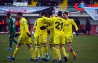 Fenerbahçe kupada yarı final için büyük avantaj...