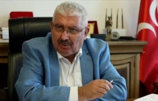 MHP'li Yalçın: Uyuyan komünist Akıncı ve...
