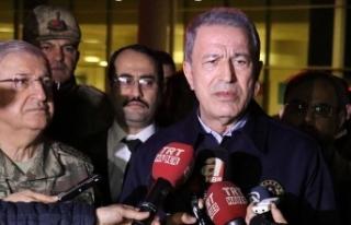 Milli Savunma Bakanı Akar'dan İdlib şehitleri...