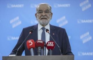 Saadet Partisi Genel Başkanı Karamollaoğlu, Necmettin...