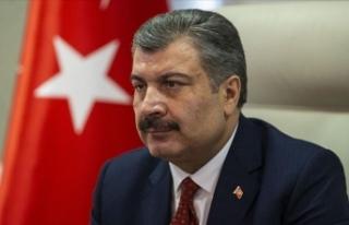 Sağlık Bakanı Koca: Şu ana kadar Türkiye'de...