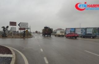 Suriye sınırına askeri sevkıyatlar devam ediyor