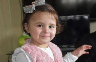 Suriyeli minik Selva, 6 aydır 'savaş oyunu'...