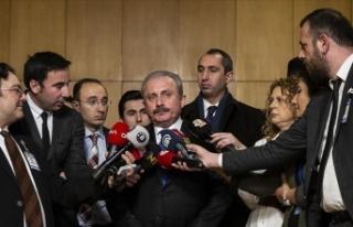 TBMM Başkanı Şentop: Parlamentonun yanlış yapmayacağına...
