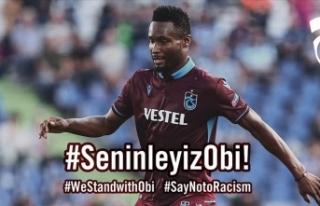 Trabzonspor'dan Obi Mikel'e yönelik ırkçı...