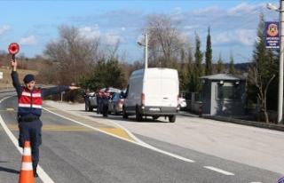 Türkiye geneli trafik uygulamasında 1200 araç trafikten...