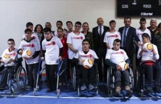 Türkiye'nin ilk Serebral Palsi futbol takımı...