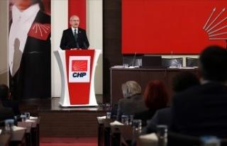 CHP Parti Meclisi kurultay için 'koronavirüs...