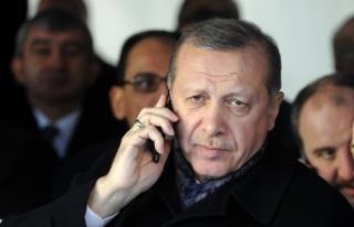 Cumhurbaşkanı Erdoğan, Albayrak ve Terim'i...