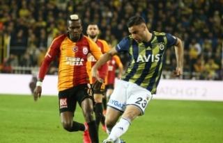 Derbiye hazırlanan Galatasaray'da Onyekuru idmanı...