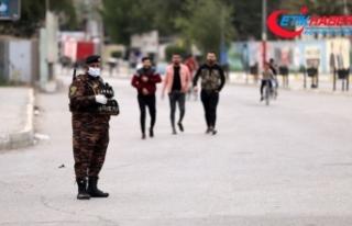Irak'ta koronavirüsten ölenlerin sayısı 40'a...