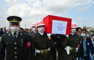 Irak'ta şehit olan Piyade Uzman Çavuş İsmail...