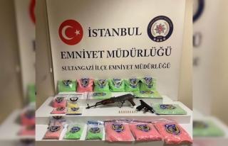 İstanbul'da uyuşturucu hap operasyonu: 60 bin...