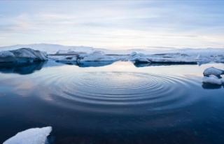 Kutup dairelerinde deniz buzu yüz ölçümü 30 yıllık...