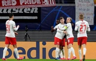 Leipzig, Şampiyonlar Ligi'nde son 8 takım arasında
