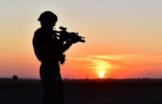 MSB: Fırat Kalkanı bölgesinde 5 terörist etkisiz...