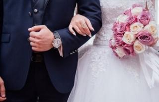 Korona virüs tedbirleri nikah sayısını yüzde...