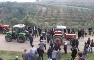Osmaniye'de 'traktör çekme' yarışmasında...