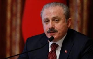 TBMM Başkanı Şentop'tan Afrin'deki terör...
