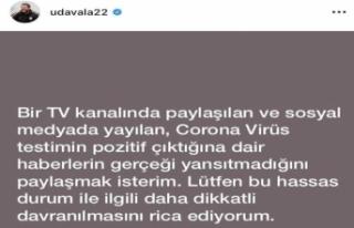 Ümit Davala korona virüs iddialarını yalanladı!