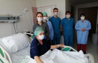 """17 gün solunum cihazına bağlı kalan hasta: """"Ben..."""