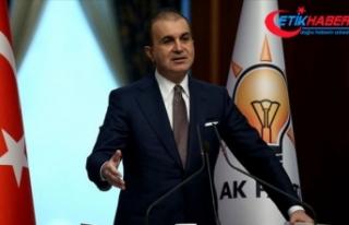 AK Parti Sözcüsü Çelik: Ankara Barosunun yayınladığı...
