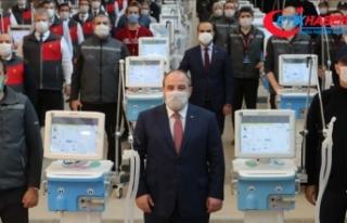 Bakan Varank yerli solunum cihazı teslimatında konuştu:...