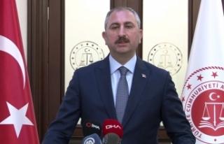 """Bakan Gül: """"120 tutuklu ve hükümlüye Covid-19..."""