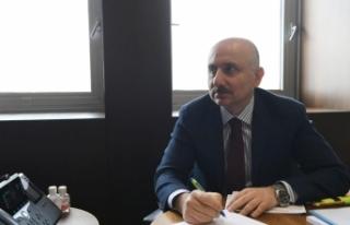 Bakan Karaismailoğlu, Rusya Ulaştırma Bakanı Dietrich...