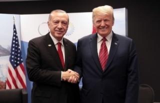 Cumhurbaşkanı Erdoğan'dan Trump'a mektup