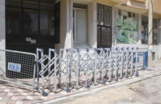Mardin Ömerli'de bir mahalle karantinaya alındı