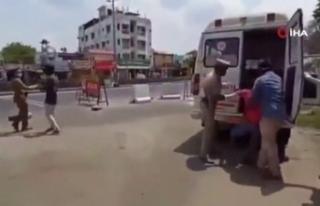 Hint polisi yine ilginç bir ceza yöntemine başvurdu...