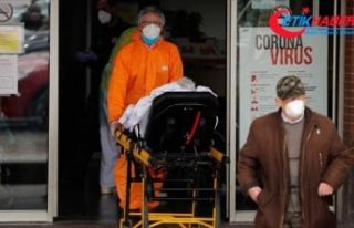 İspanya'da Kovid-19 kaynaklı ölüm artış...