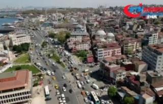 İstanbullular uyarıları dikkate almadı, trafik...
