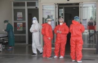 Korona virüs şüphelisi hastaneyi ayağa kaldırdı