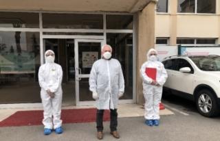 Korona virüsle mücadelede filyasyon çalışmaları...