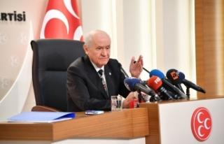 MHP Lideri Bahçeli: CHP'nin, İP'in, HDP'nin...