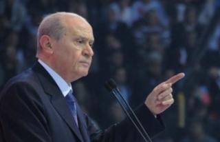 MHP Lideri Bahçeli: Milli kazanımlara üzülüp...