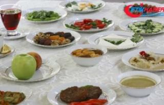 Ramazan dengeli ve planlı beslenmeyle sağlığa...
