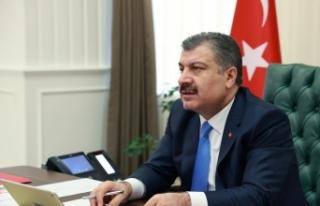 Sağlık Bakanı Koca, DSÖ'ye Türkiye'nin Covid-19...