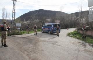 Sivas'ta 1 köy daha Kovid-19 tedbirleri kapsamında...