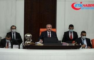 TBMM Başkanı Şentop: Gazi Meclisi'miz Milli...