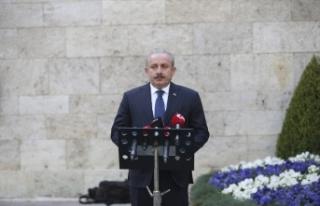 TBMM Başkanı Şentop, vatandaşları 23 Nisan'da...