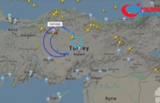 THY'nin 'TK1920' kodlu özel uçuşu...