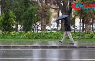 Türkiye genelinde bir hafta süreyle yoğun yağış...