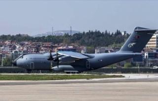 Türkiye'den ABD'ye tıbbi yardım taşıyan...