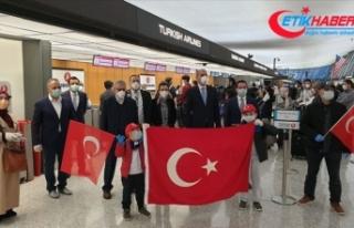 Yurt dışında kalan Türk vatandaşlarının tahliyesi...