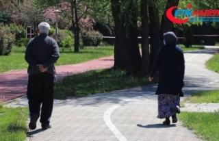 65 yaş ve üzeri vatandaşlar uzun bir aradan sonra...